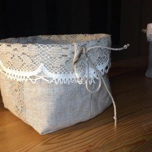 Lina groziņš/Linen basket